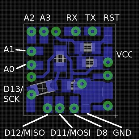 MAKE   Tinydino: World's Smallest Arduino Clone?   Open Source Hardware News   Scoop.it