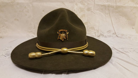 Vintage Texas A&M Corps Of Cadets Campaign Hat W/Brass Badge | Corps of Cadets | Scoop.it