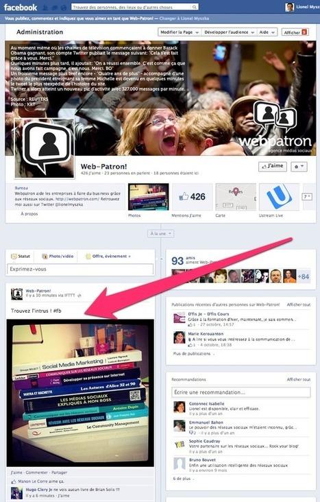 Publier automatiquement ses photos Instagram sur Facebook | Animation de communautés ou Community management | Scoop.it