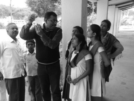 Students are all attention as testing Fluoride is explained t... on Twitpic | Globicate - Global Education for a New Generation | Scoop.it