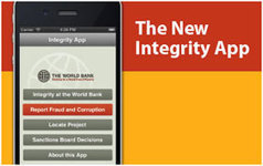 Leveraging New Tools to Report Fraud and Corruption: The World Bank Launches its Integrity App   International aid trends from a Belgian perspective   Scoop.it