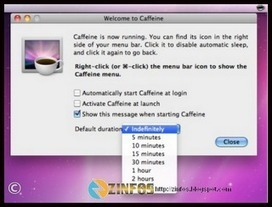 Caffeine pour MAC et Windows | Freewares | Scoop.it