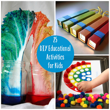 25 DIY Educational Activities for Kids | Foundation Phase | Scoop.it