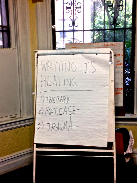 Free Writing Classes for the Homeless Help Heal   New York Observer   Written Words   Scoop.it