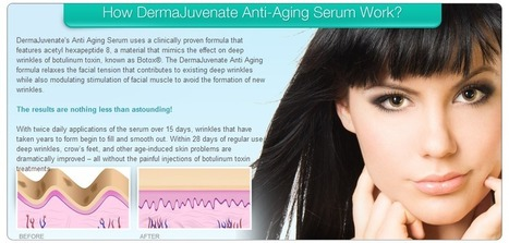 Derma Juvenate Review – What Makes This Anti Aging Serum Different | solution to all your skin problems! | Scoop.it