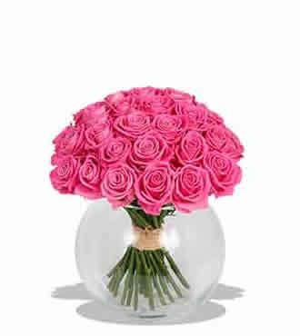 24stems pink roses bouquet deliver to your fiancé on Valentines Day – Pink_Roses_Bouquet#003 | Collection of flowers | Scoop.it