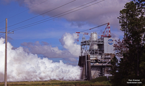 NASA Successfully Test Fires Mars Mega Rocket Engine with Modernized 'Brain' Controller - Universe Today | More Commercial Space News | Scoop.it