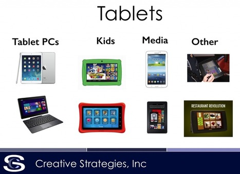 The Great Tablet Segmentation - Tech.pinions | Meaningful Mobile Learning | Scoop.it