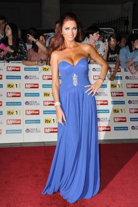 Amy Childs' Red Carpet Dress – Pride Of Britain Awards 2011 ... | wedding and event | Scoop.it