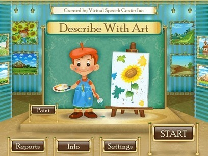 Describe With Art App | Speech and Language Therapy Apps | Scoop.it