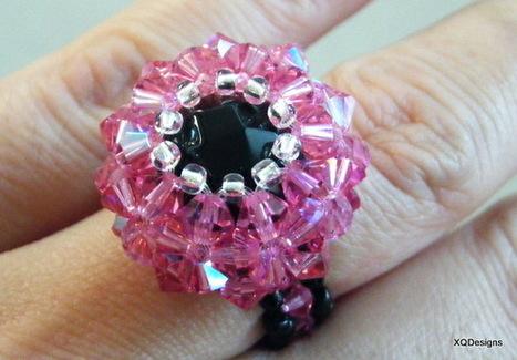 DIY Beaded Basket Ring Tutorial | DIY Beading | Scoop.it