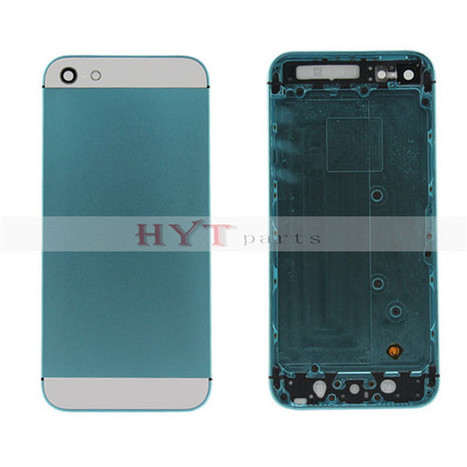 Original Back Housing Battery Door Cover Plate For iPhone 5 Light Blue | How to save more money and time | Scoop.it