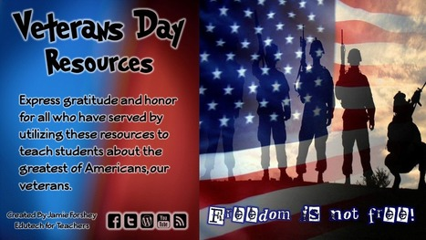 Connect Classroom Curriculum to Veterans Day | 21st Century Technology Integration | Scoop.it