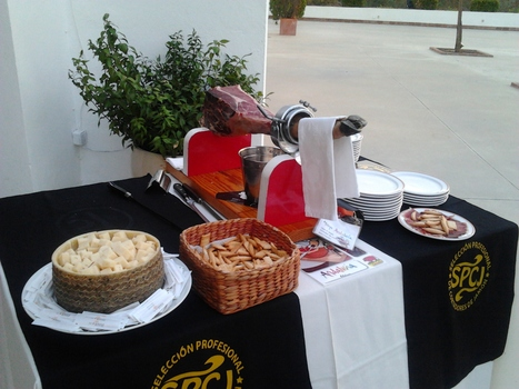 Estación con queso en dados   El cortador de jamon   Scoop.it