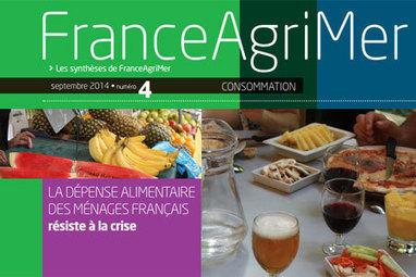 Consommation des ménages : la part de l'alimentation continue sa progression (FranceAgriMer) | Revue de presse professionnelle | Scoop.it
