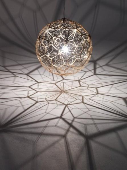 Etch Web: la nueva iluminación geométrica de Tom Dixon | lámparas | Scoop.it