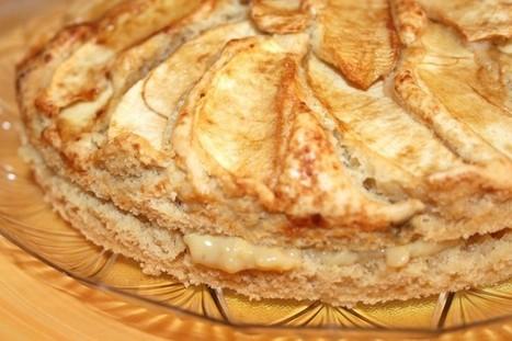TORTA DI MELE CON CREMA PASTICCERA ALLA VANIGLIA - Vegan Cucina Felice | cupcake maniac | Scoop.it