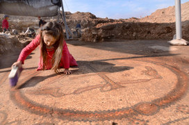 Christian Mosaics Unearthed in Byzantine Basilica - Archaeology Magazine | Historical Updates | Scoop.it