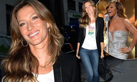 Gisele Bunchen pulls on her skinny jeans for Today show appearance | Aprender Inglês Online | Scoop.it
