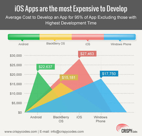 Application Development at iOS is Costly Compare to Android, Blackberry, Windows and Others | About mobile development | Scoop.it