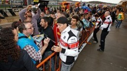 Riders for Health paddock pass auction | MotoGP World | Scoop.it