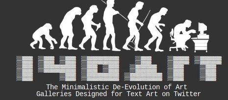 #140art / 140 Text Art | ASCII Art | Scoop.it