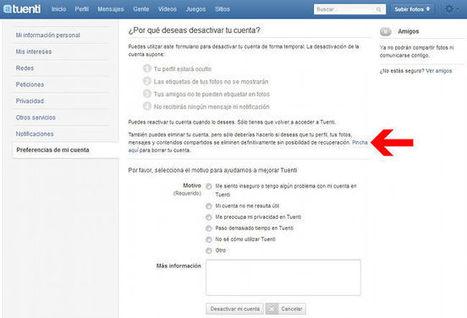 Cómo darse de baja de las principales redes sociales (parte 1) | TIC JSL | Scoop.it