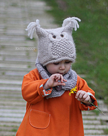Chouette pattern by Ekaterina Blanchard | Knit-of-the-Month Club | Scoop.it