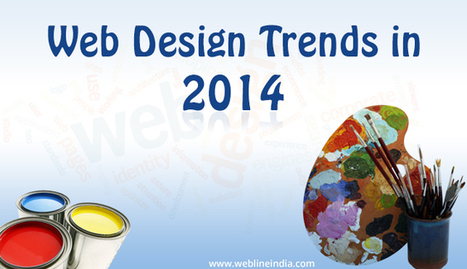 Design trends that will capture the market in the year 2014 | Webdesign | Scoop.it