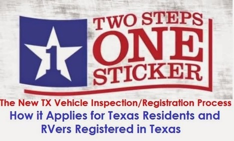 """Vehicle Registration Made Easy, New """"Texas Two Step"""" 