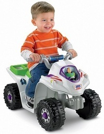 Fisher-Price Power Wheels Toy Story 3 Lil' Quad | Ride-On Toys | Best Ride On Toys For Toddlers 2014 | Scoop.it
