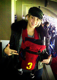 Shakira con Milan allo stadio | News From the Network | Scoop.it