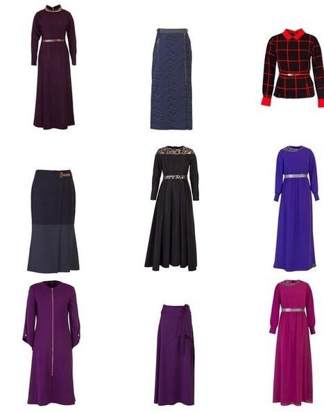 Kayra 2014-2015 Sonbahar Kış Koleksiyonu Tesettür Kıyafetleri | kapaligiyimi | Scoop.it