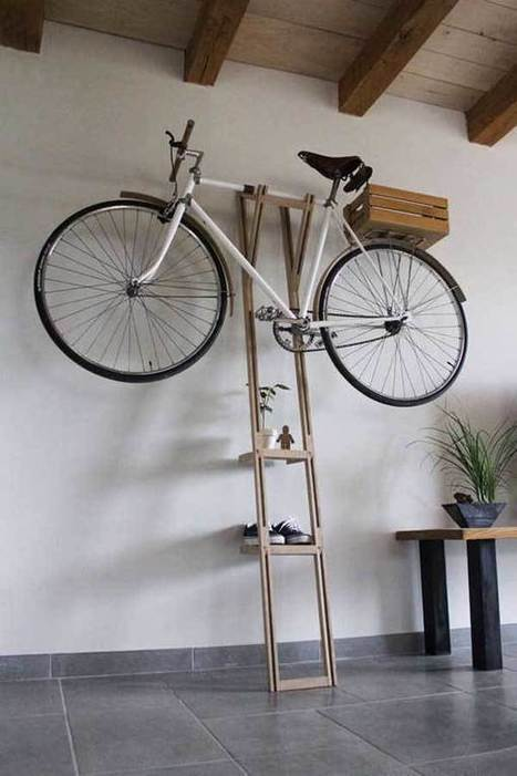 27 Design Ideas on How to Decorate With Bikes in Your Household | Homesthetics | Scoop.it