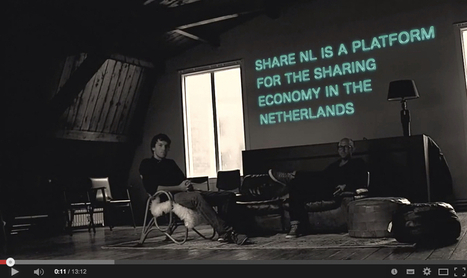 Interview: 'How the Sharing Economy is taking off in the Netherlands' [VIDEO] | Peer2Politics | Scoop.it
