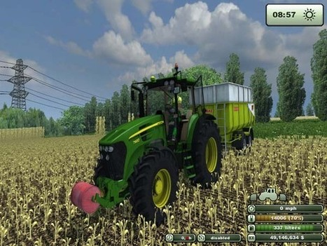 John Deere 7930 Mod | FS2013Mods | Farming Simulator 2013 Mods | Scoop.it