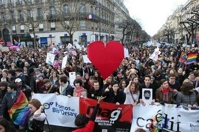 Les partisans du «mariage pour tous» ne relâchent pas la mobilisation | La-Croix.com | Quelques informations.... | Scoop.it