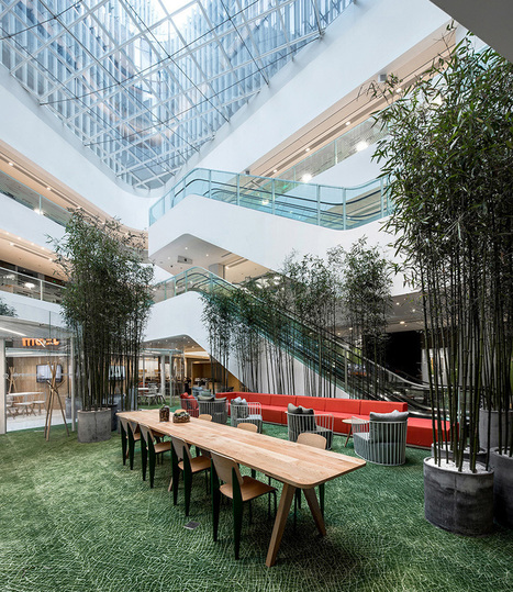 AIM architecture creates vibrant shared office for SOHO 3Q in beijing | architecture and psychology | Scoop.it