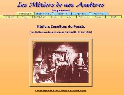 La gazette des ancêtres: Le site du vendredi : Les métiers de nos ancêtres | GenealoNet | Scoop.it