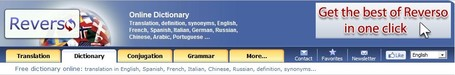Free dictionary online: translation, definition, synonyms... | The Information Specialist's Scoop | Scoop.it