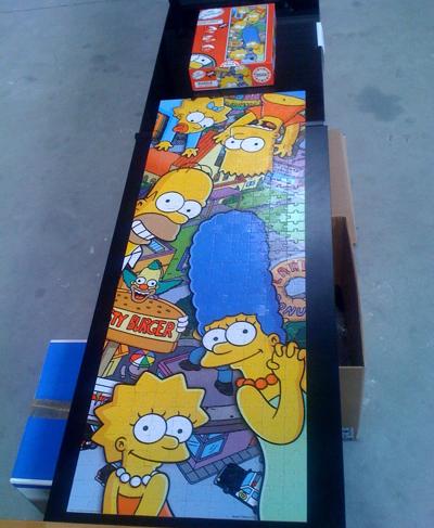 chez jeu-puzzles.com, les équipes s'amusent à la pause et vous envoient le sourire des Simpson ! | Jeu puzzles | Scoop.it