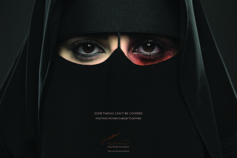 Women's Domestic Abuse In KSA    Photographer: Memac Ogilvy   ADS   Scoop.it