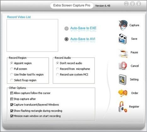 Extra Screen Capture | Narzędzia do nagrywania czynności ekranowych | Scoop.it