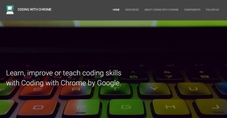 Coding with Chrome : un nouvel outil gratuit de Google pour apprendre à coder, disponible en version bêta | Agence Smith | Scoop.it