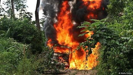 Funai e Ibama combatem garimpo ilegal no Pará | CPEI | Scoop.it