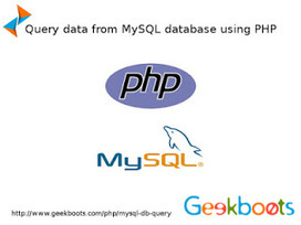 Execute query in mysql database using PHP   Learn programming with examples   Scoop.it