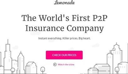 Lemonade, une autre assurance P2P | Sélections de Rondement Carré sur                                                           la créativité,  l'innovation,                    l'accompagnement  du projet et du changement | Scoop.it