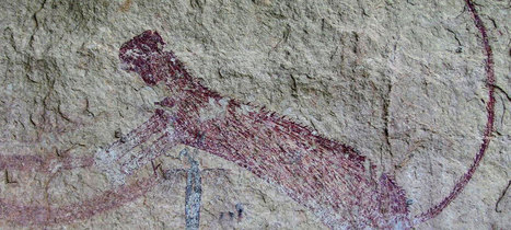 Panther Cave rock art recorded in 3D : Archaeology News from Past Horizons | Archaeology News | Scoop.it