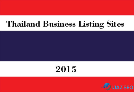 Thailand Business Listing Sites 2015 | The Bloggers Lab | Scoop.it