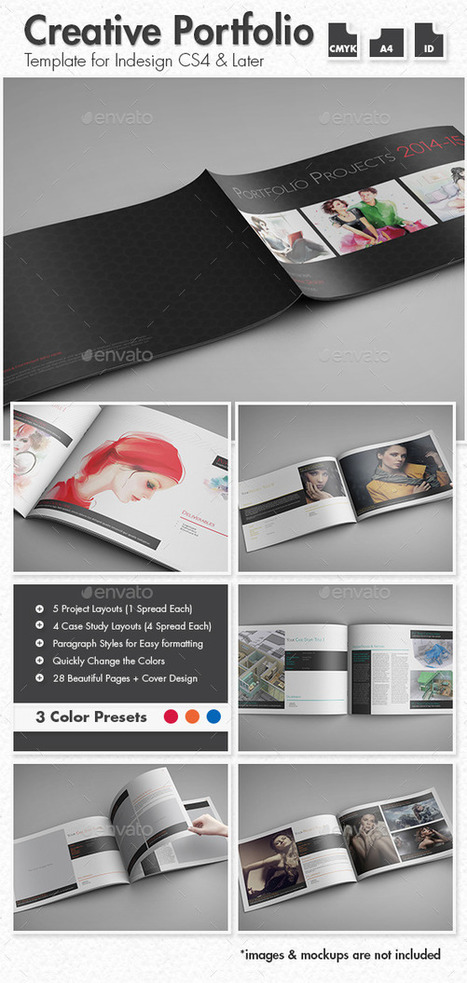 Creative Portfolio - A4 Landscape | About Photography | Scoop.it